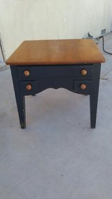 vintage table with drawers in Hemet, California
