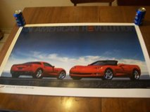 2005 Chevrolet Corvette New LARGE Dealership Poster. in Glendale Heights, Illinois