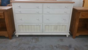 White dresser in Camp Lejeune, North Carolina