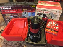 Craftsman Router 1.5HP SET w/ table+bits! Like New Made in USA in Fort Leonard Wood, Missouri