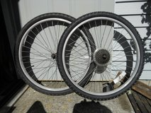 "26"" Mountain bike wheel set in Glendale Heights, Illinois"