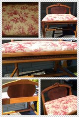Vintage Dresser Chair-Vanity Bench in Lockport, Illinois