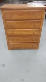 5 drawer dresser in Camp Lejeune, North Carolina