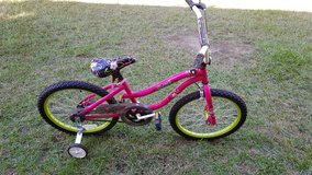 Girls bicycle in DeRidder, Louisiana