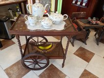 Peck and Hills Furniture Co.  Oak Wood Tea Cart in Fort Leonard Wood, Missouri