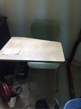 old school desk in Alamogordo, New Mexico