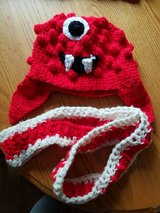You Gabba Gabba hat and scarf in Fort Riley, Kansas