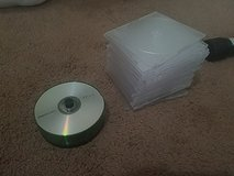 Blank CDs and cases in Camp Lejeune, North Carolina