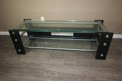 Modern Glass Tv Stand in Kingwood, Texas