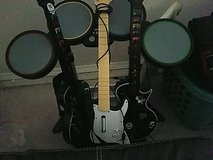 Xbox Drum and 3 Guitars in Fort Leonard Wood, Missouri