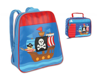 Pirate Ship Backpack and Classic Lunch Set in Waukegan, Illinois