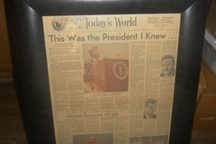 2 NEWS PAPERS ON THE JFK'S ASSASSINATION in Fort Campbell, Kentucky