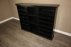 Distressed Black Hutch (Mail Organizer) in The Woodlands, Texas