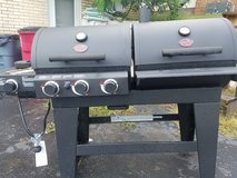 Char-Griller Duo Black Dual-Function Combo Grill in Fort Campbell, Kentucky