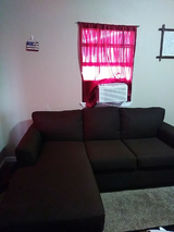 Brown sectional in Lackland AFB, Texas