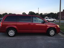 Red Chrysler Town & Country in Norfolk, Virginia