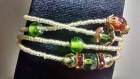 Hand Beaded wrap around bracelet in Yucca Valley, California