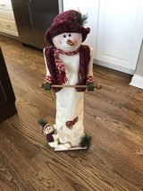 adorable snowman toilet paper holder in Joliet, Illinois