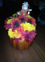 Pumpkin floral arrangement in Chicago, Illinois