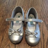 Silver Mary Janes, size 9.5 in Aurora, Illinois