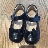 Pretty much brand new black patent leather Mary Janes, pedipeds size 9/9.5 in Aurora, Illinois