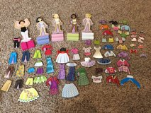Complete set of Melissa and Doug wooden dress up dolls in Naperville, Illinois