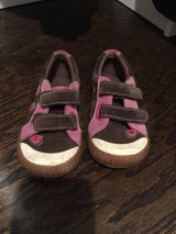 Stride right Velcro shoes with hearts on them, size 9 1/2 in Aurora, Illinois