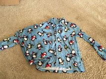 Gymboree pajama set, size 8. Top has a collar with button up closure in Oswego, Illinois