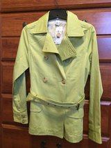 Woman's BRAND NEW green spring/fall coat, size small in Oswego, Illinois