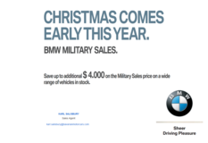 BMW END OF YEAR SALE!! in Grafenwoehr, GE