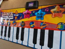 REDUCED Large Piano Playmat in Lakenheath, UK