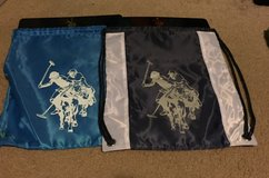 (2) Blue Drawstring Bags-NEW in Algonquin, Illinois