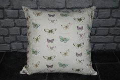 "20"" scatter cushion ... butterflies in Lakenheath, UK"