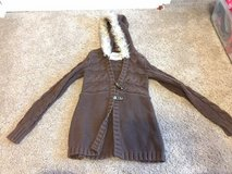 Old Navy brown hooded sweater, size S in Bolingbrook, Illinois