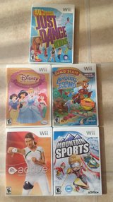 WII games in Bolingbrook, Illinois