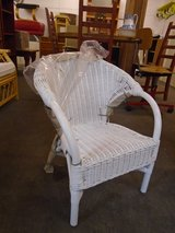 Childs cane chair in Lakenheath, UK