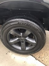 4 Cooper HT 275/60R20 Tires on Dodge Ram Wheels in Virginia Beach, Virginia