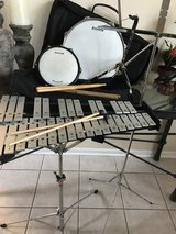 Ludwig Snare & Xylophone w/ Stand, Sticks & Carry Case in Batavia, Illinois