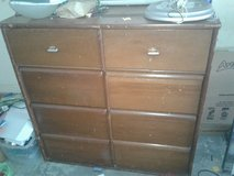Very large tall dresser, real wood in Camp Lejeune, North Carolina