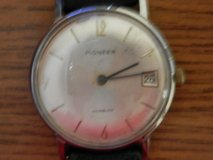 Vintage Pioneer Wristwatch With Date in New Lenox, Illinois