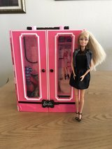 Barbie Closet with clothes, shoes, purses in Fort Bliss, Texas
