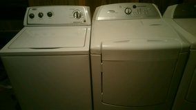 Whirlpool washer with whirlpool cabrio dryer in Fort Rucker, Alabama