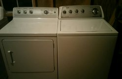 Whirlpool HE washer with GE dryer set in Fort Rucker, Alabama