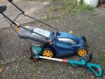ELECTRIC LAWN MOWER & EDGE TRIMMER in Ramstein, Germany