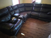 Real Italian Leather Couches in Naperville, Illinois