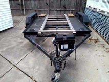 all steel dual axle car hauler/trailer in Cleveland, Ohio