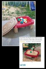 Step 2 Sand table & Accessories (south mesa 1) in Oceanside, California
