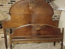 Antique Double Bed frame in Glendale Heights, Illinois