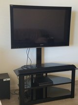 "SONY 46"" TV w/stand in Nellis AFB, Nevada"