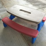 Little Tikes Folding Picnic Table in Okinawa, Japan